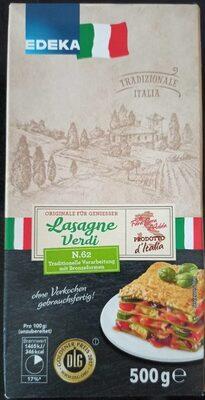 Lasagne verdi - Prodotto - de