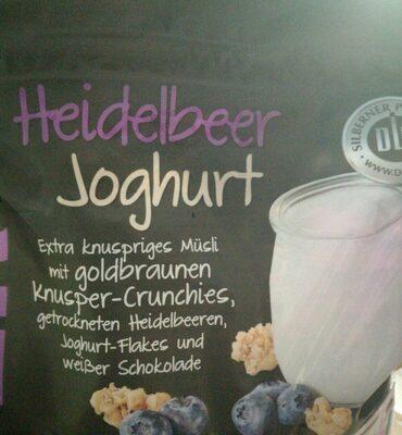 KNUSPER Müsli Heidelbeer Joghurt - Product - de