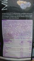 KNUSPER Müsli Heidelbeer Joghurt - Ingrediënten - de