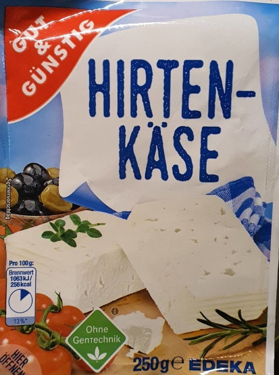 Hirten-käse - Nährwertangaben - de