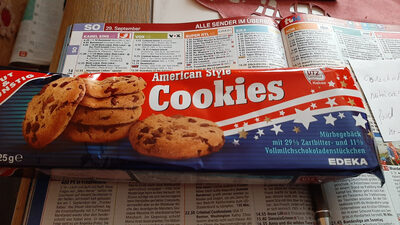 American style cookies - Product