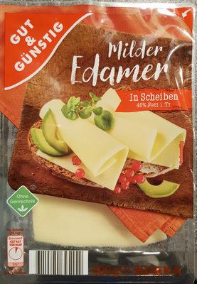 Milder Edamer 40% Fett - Product