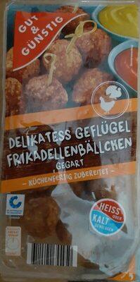 Delikatess Geflügel frikadellenbällchen gegart - Produit - de