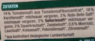 Tomaten-Gemüse-Mix - Ingrédients - de