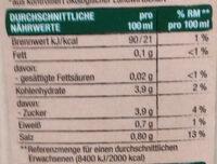 Tomaten-Gemüse-Mix - Informations nutritionnelles - de