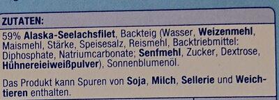 Knusper Filets - Ingredients