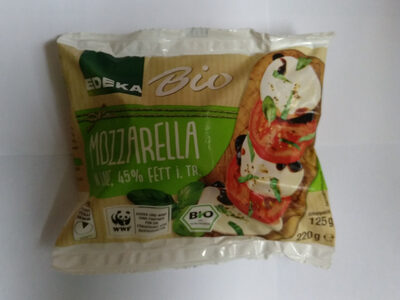 Mozzarella Bio - Product