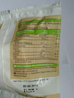Mozzarella Bio - Nutrition facts