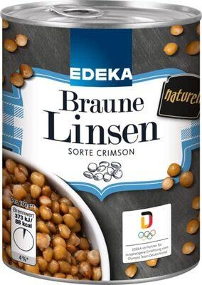 Braune Linsen - Produit - de