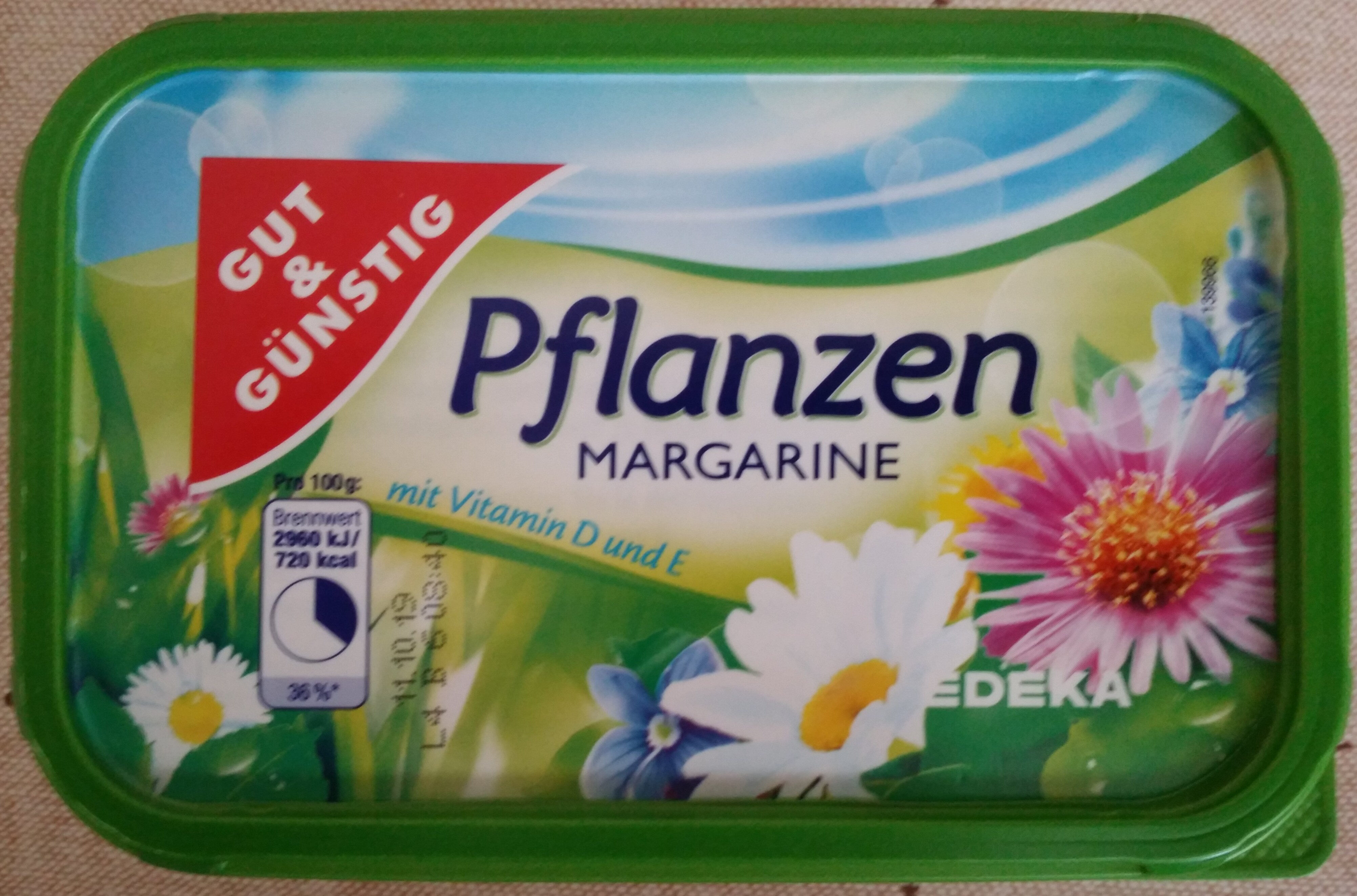 Pflanzen Margarine - Product - de