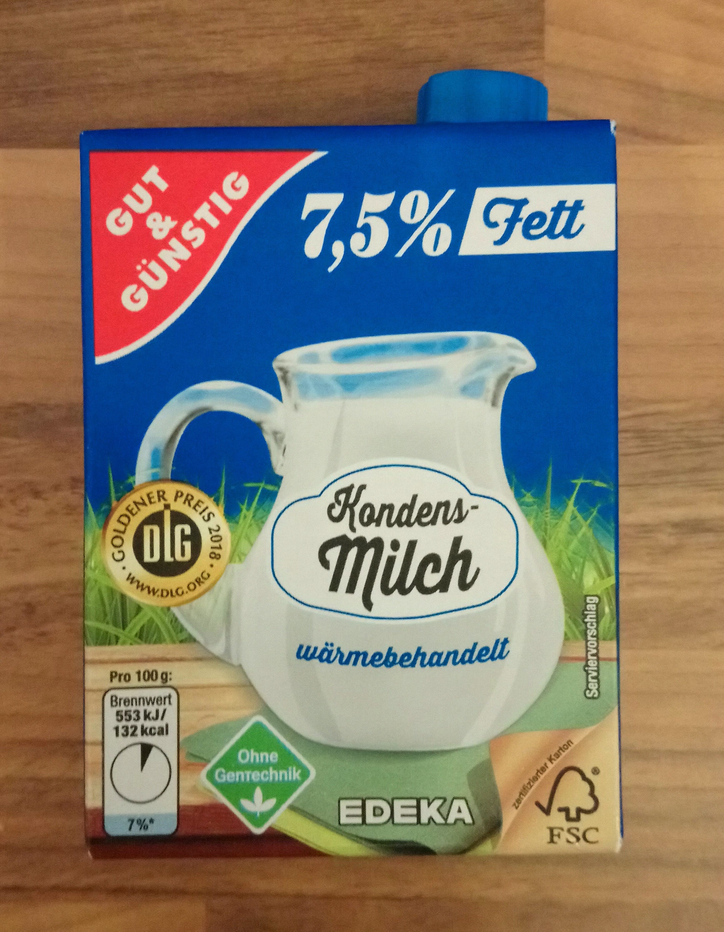Kondensmilch - Produit