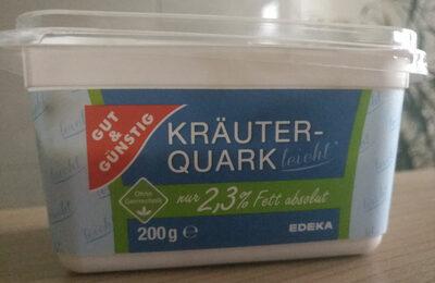 Gut & Günstig Kräuterquark leicht - Product - de