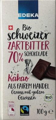 Bio schweizer Zartbitter Schokolade 70% - Produit - de