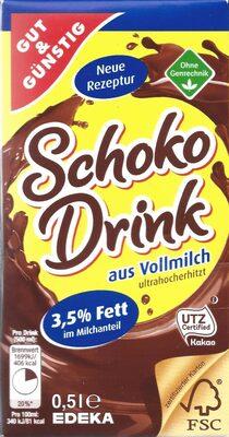 Schoko Drink aus Vollmilch - Product - de