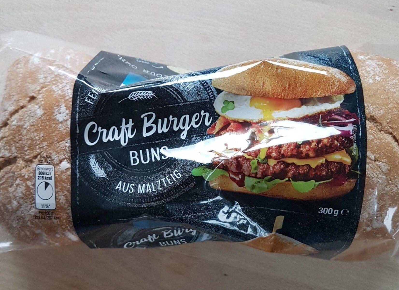 Craft Burger Bun - Prodotto - en