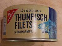 Thunfisch Filets in Sonnenblumenöl - Produkt - de