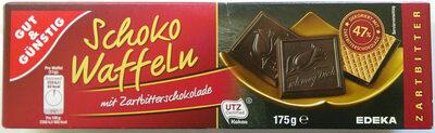 Schokowaffeln mit Zartbitterschokolade - Product