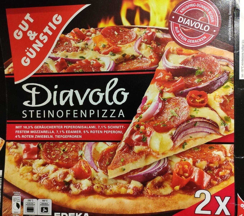 Diavolo Steinofenpizza - Produkt - de