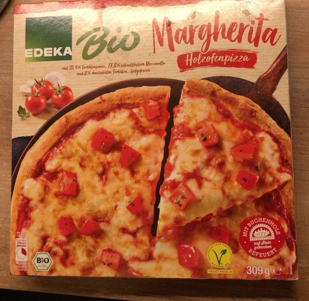 Bio Margherita Holzofenpizza - Produkt - de