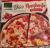 Holzofenpizza mit 18.9 % Tomatensause, 17.8 % schnittfestem Mozzarella und 8% marinierten Tomaten, tiefgefrozen - Produkt