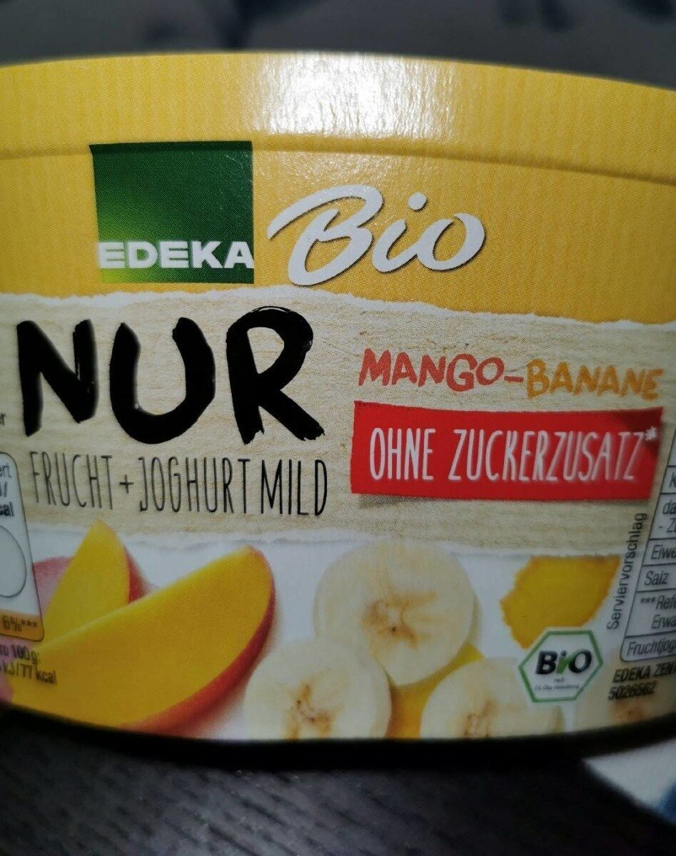 Nur Frucht-Joghurt Mild Mang Banane - Produit - de
