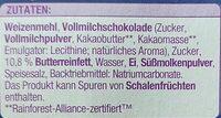 Schoko Butter-Taler - Zutaten - de