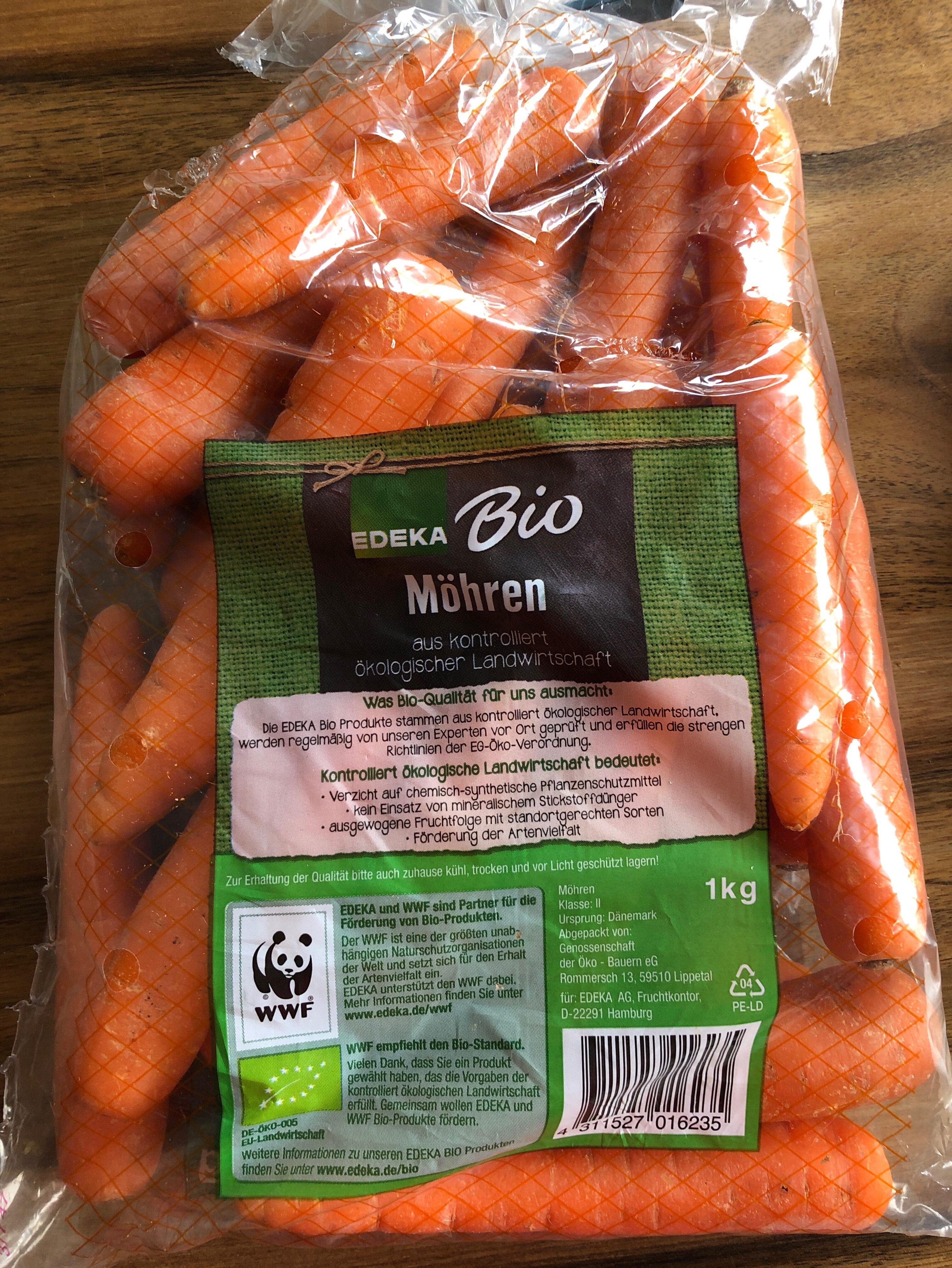 Bio Möhren - Ingredients