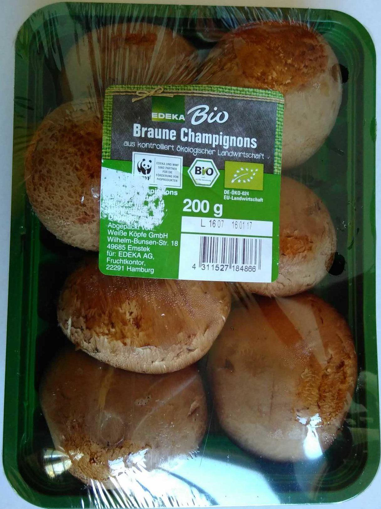 Braune Champignons - Produkt - de