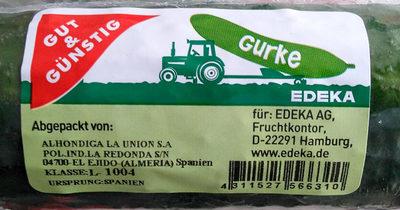 Gurke - Produkt