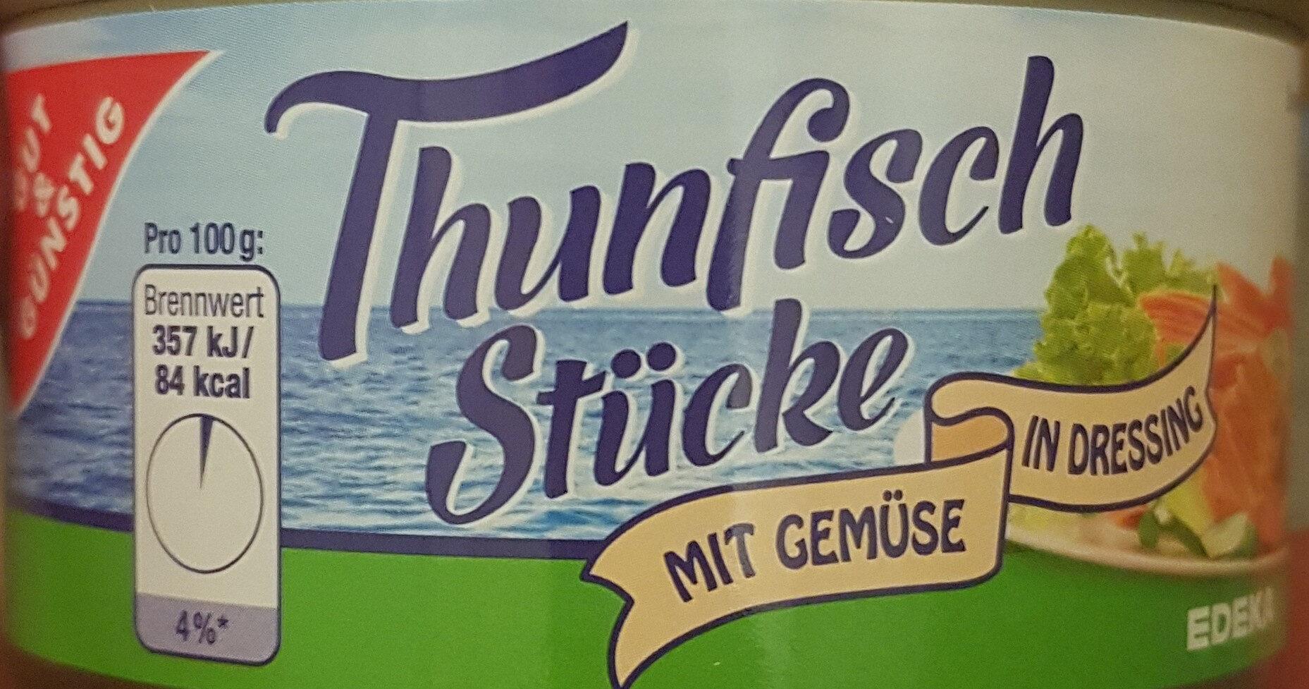 Thunfisch mit Gemüse Gut & Günstig - Produit