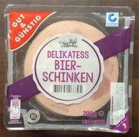 Delikatess Bierschinken - Product - de