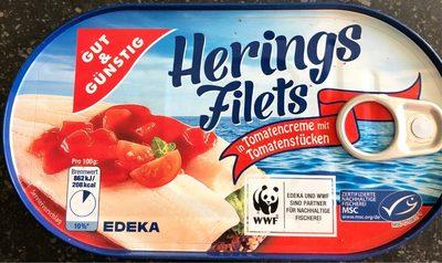 Herings filets - Produit - fr