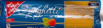 Spaghetti - Produkt