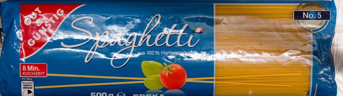 Spaghetti Nudeln - Produkt - de