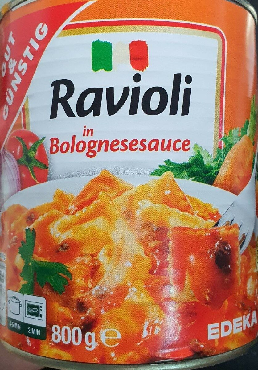 Ravioli, Bolognese - Produit - de