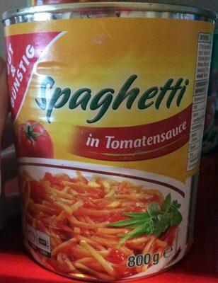 Spaghetti in Tomatensauce - Produit