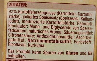 Kartoffel Knödel halb & halb - Ingredients