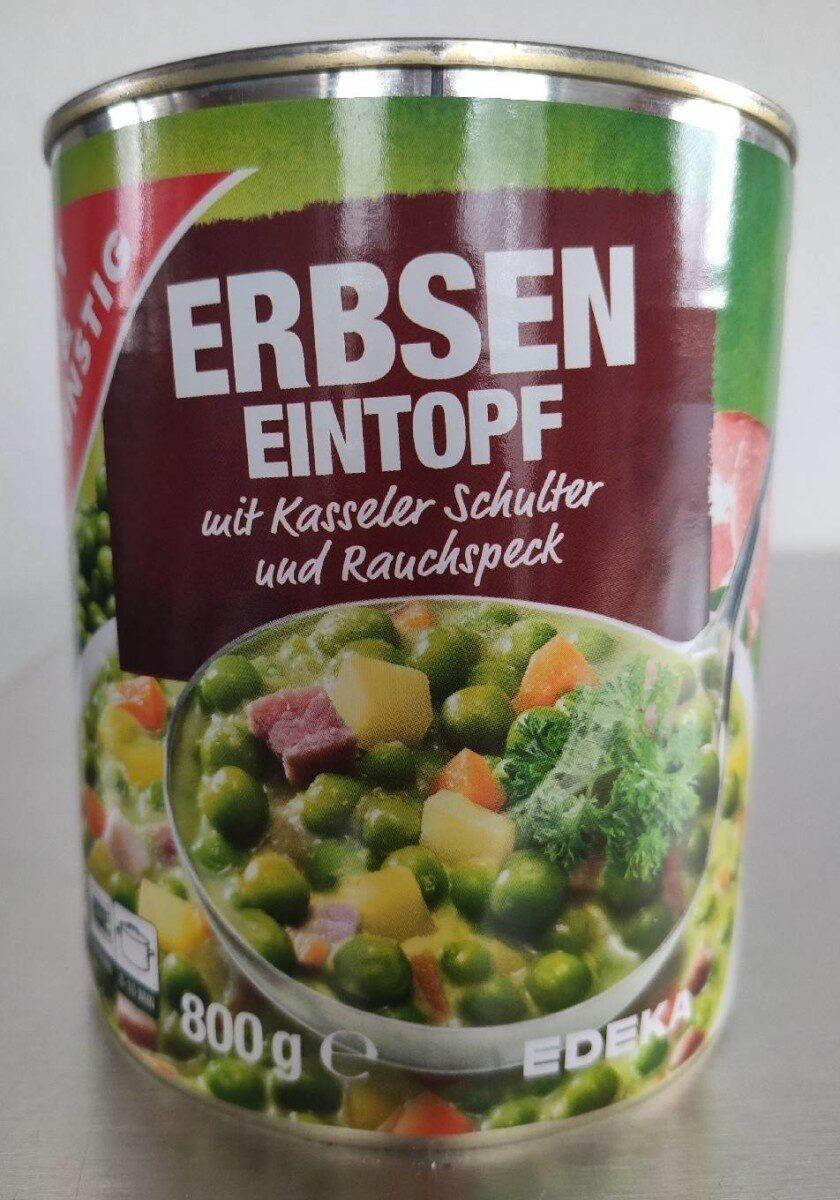 Erbsen-Eintopf mit Kassler Schulter und Rauchspeck - Produkt - de