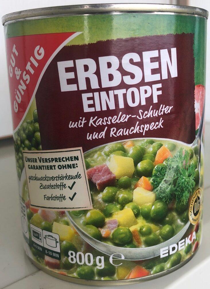 Erbsen-Eintopf mit Kasseler-Schulter und Rauchspeck - Produit