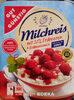 Milchreis mit Erdbeersauce - Produkt