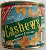 Cashews geröstet & gesalzen - Produit