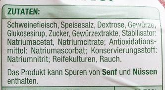 Delikatess Schinken Würfel - Ingredienti - de