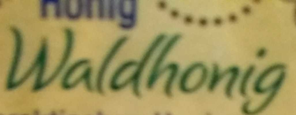 Waldhonig kräftig würzig  Marmelade - Ingredients - de