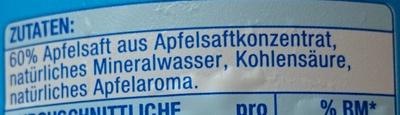 Apfel Schorle - Zutaten - de