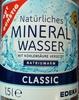 Natürliches Mineralwasser Classic - Produkt
