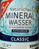 Natürliches Mineralwasser Classic - Produit