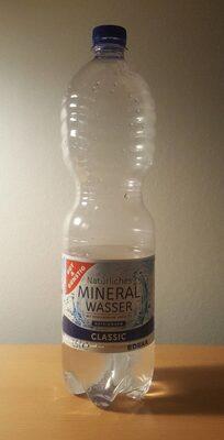 Mineralwasser – Classic mit Kohlensäure - Produkt - de