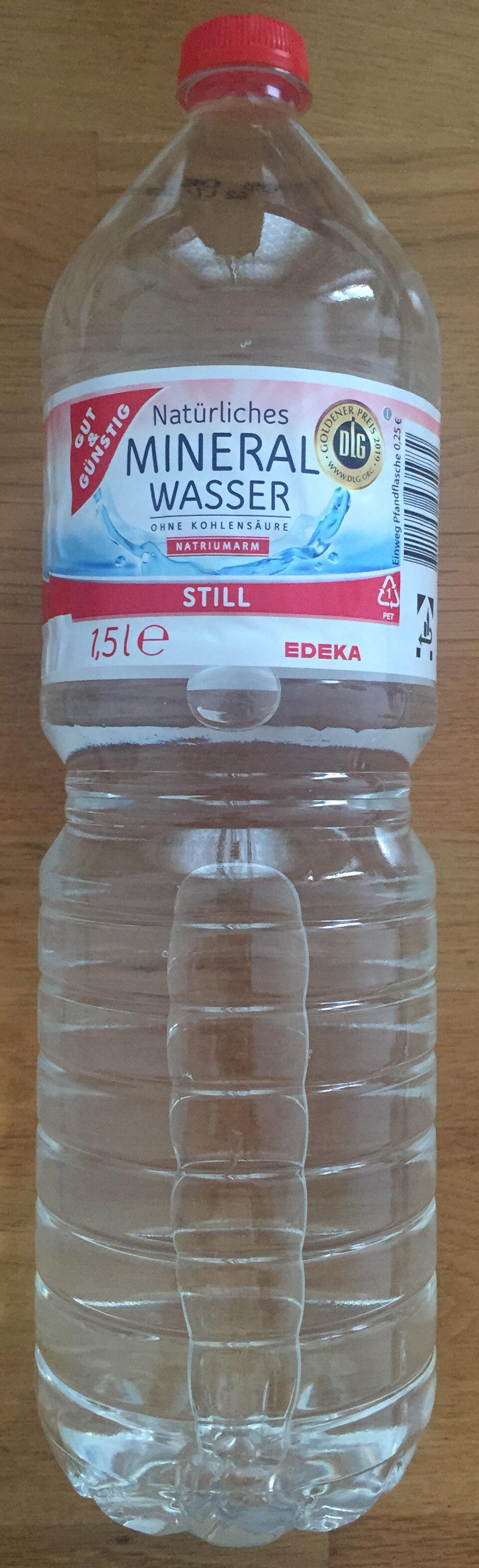 Mineral wasser - Produit - de