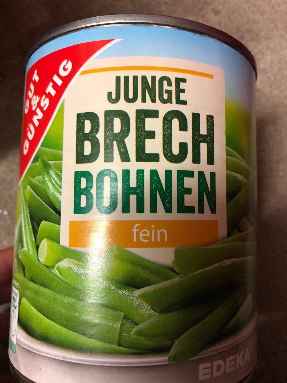 Junge Brech Bohnen - Product