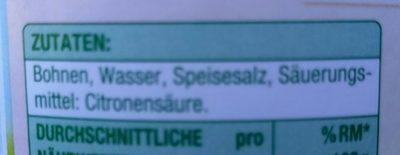 Junge Brech Bohnen - Ingredienti - de